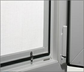 москитная сетка на Z-образных металлических креплениях